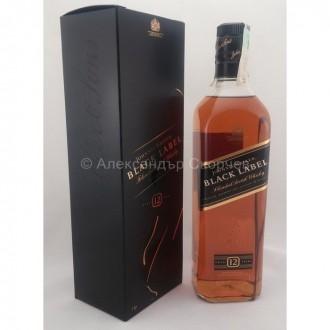 Уиски Джони Уокър Блек Лейбъл 12г.