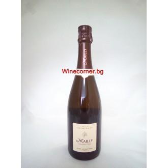 Шампанско Маий Гранд Кру Блан де Пино Ноар Брут