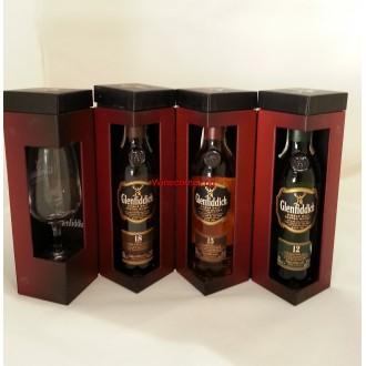 Уиски Гленфидих Колекция 3*0.2л с чаша